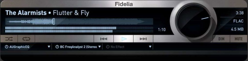 Fidelia - iTunes Player